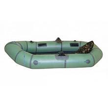 Лодка резиновая лисичанка -2 местная ( 34 балон )