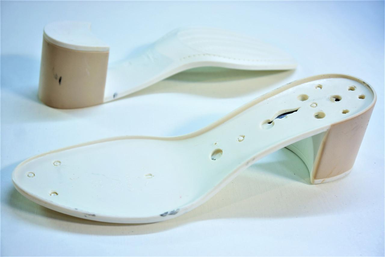 Подошва для обуви С527 бело-бежеваяая р,36-41
