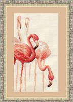 """Набор для вышивания крестом """"Фламинго.Набор №1"""""""