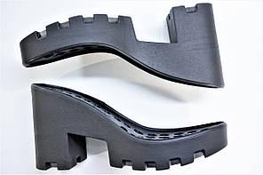 Подошва для обуви женская С714 черная р,36-41, фото 2