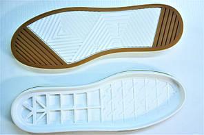 Подошва для обуви  Емоджи 2 беж-белая р.36-41, фото 2