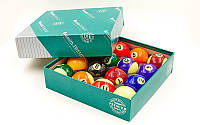 Шары для бильярда Арамид ARAMITH POOL SET PREMIER (d-57,2мм, в компл. 16 шаров, цветные)