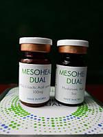 MESOHEAL DUAL-биоревитализация,содержит 100мг.полимолочной(PLLA) и 4мл.гиалуроновой кислоты(10мг.мл)