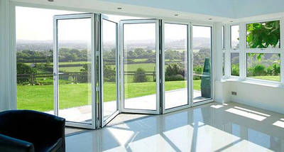 Раздвижные алюминиевые двери, фото 2