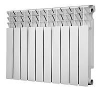 Радиатор биметалический Calgoni Brava Pro 500 10 секций Белый (0302030225-100421034)