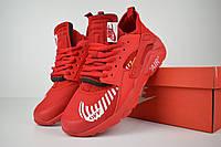 Мужские кроссовки Nike Air Huarache x OFF White (ТОП РЕПЛИКА ААА+)