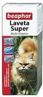 "Beaphar (Беафар) ""лавета супер"" Жидкие витамины для кошек, 50 мл"