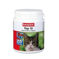 Beaphar (Беафар) TOP 10 Витамины для кошек (180 таблеток)