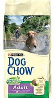 Dog Chow (Дог Чау) Adult с ягненком 2,5 кг - корм для взрослых собак
