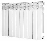Радиатор алюминиевый Calgoni Alpa Pro 500 10 секций Белый (0302020225-100419072)