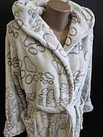 Домашній махровий халат від виробника., фото 1