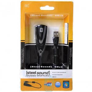 Звуковая карта USB 7.1 5CH кабель