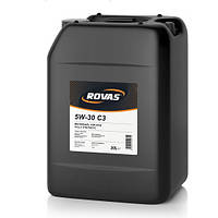 Моторное масло Rovas 5W-30 C3 20 л (105706)