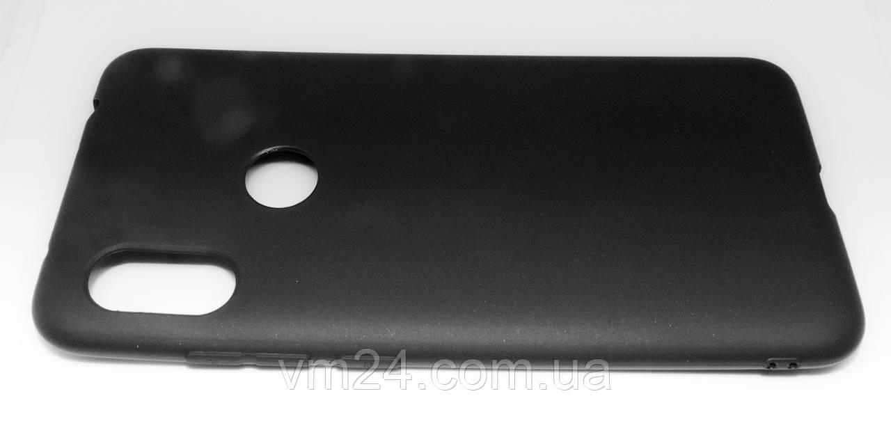 Candy Silicone для Xiaomi Redmi Note 6 Pro цвет Черный.
