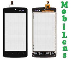 IconBIT NT-3509M, NetTAB Mercury Q4, K-Touch U86 MSM8225Q Тачскрин (сенсор) черный