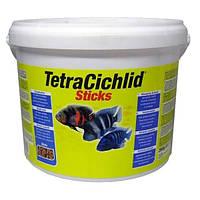 Tetra Cichlid Sticks (Цихлид) основной корм для цихлид (10 л)