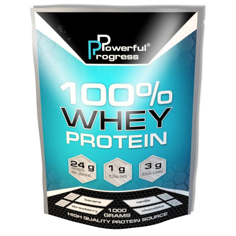 Протеин Powerful Progress 100% Whey Protein 1 кг