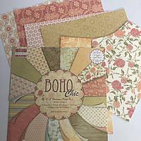 Набір паперу - Boho Chic - 20x20