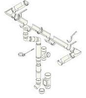 Система 125/90 Білий RAL 9010