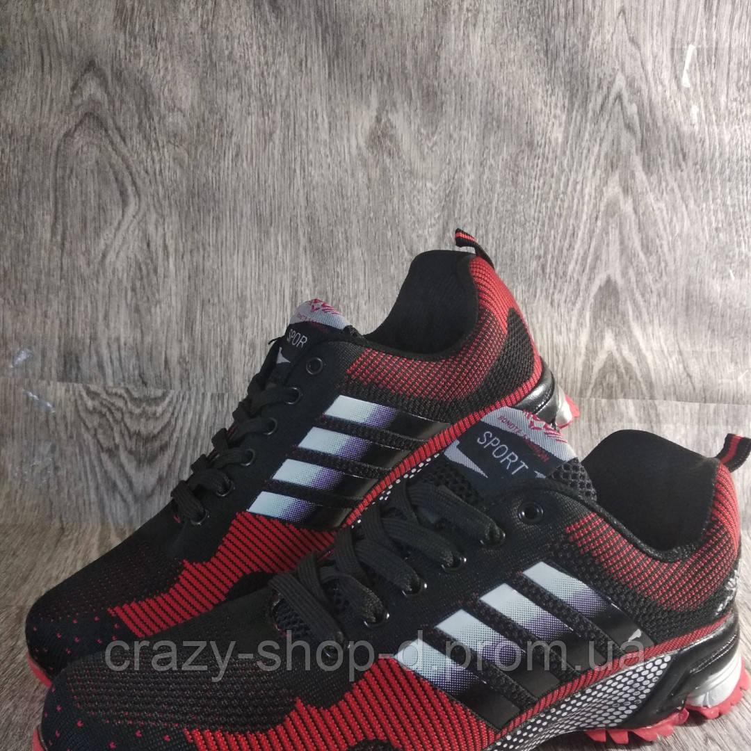 Мужские спортивные кроссовки красные