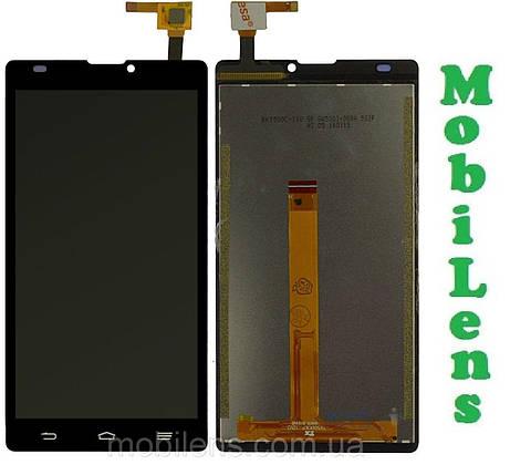 ZTE L2, Blade L2 Дисплей+тачскрин(модуль) черный, фото 2