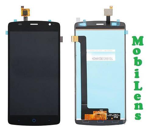 ZTE L5 Plus, Blade L5 Plus Дисплей+тачскрин(модуль) черный, фото 2