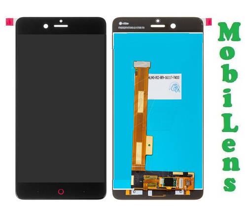 ZTE Z17, Nubia Z17, NX563J Дисплей+тачскрин(модуль) черный, фото 2