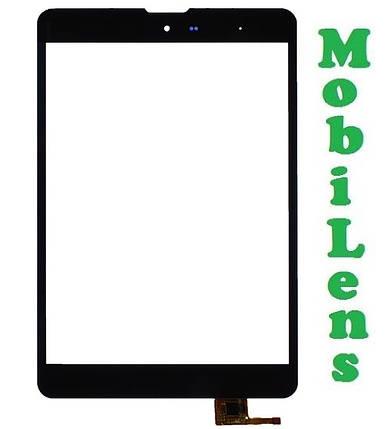 ZTE Pad E8Q, 3Q Q-pad MT7801C, ТОМАТО Т1 Тачскрин (сенсор) для планшета черный, фото 2
