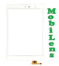 ZTE Pad E8Q, 3Q Q-pad MT7801C, ТОМАТО Т1 Тачскрин (сенсор) для планшета белый