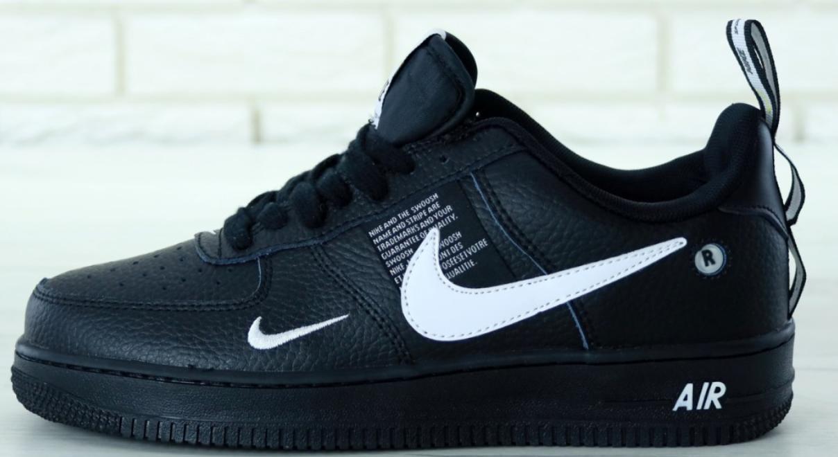 Мужские кроссовки Nike Air Force 1 07 LV8 Black