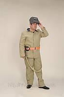Костюми защитные, рабочая одежда пожарника, спецодежда сварщика