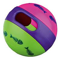 Trixie Мяч-кормушка для кота (резина), ø 6 см.