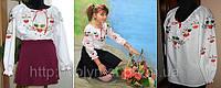 """Вышиванка для девочек """"Калина"""" ( арт. BA2-1.8.1 )"""