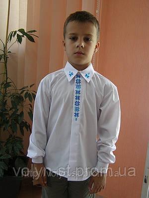 """Рубашка вышитая для мальчика """"Ольвія"""" ( арт. CX3-429.0.11 )"""
