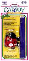 Vo-Toys БОЖЬЯ КОРОВКА НА УДОЧКЕ с микрочипом игрушка для котов (длина 60 см)