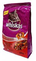 Whiskas Сухой корм для кошек с говядиной