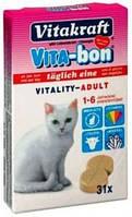 Vita-Bon Vitality Adult Cat Мультивитамины для кошек, 31таб