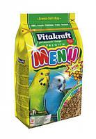 Vitakraft (Витакрафт) Menu Vital корм для волнистых попугаев, 1 кг