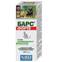 Барс Форте спрей противопаразитарный для кошек 100 мл
