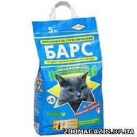 БАРС №5 мелкий с ароматом лаванды - наполнитель для кошачьего туалета