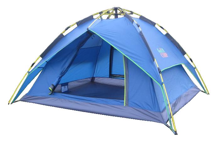 Палатка трехместная автоматическая GreenCamp 1831