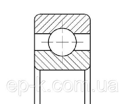 Подшипник 116 Л (6016 МА), фото 2