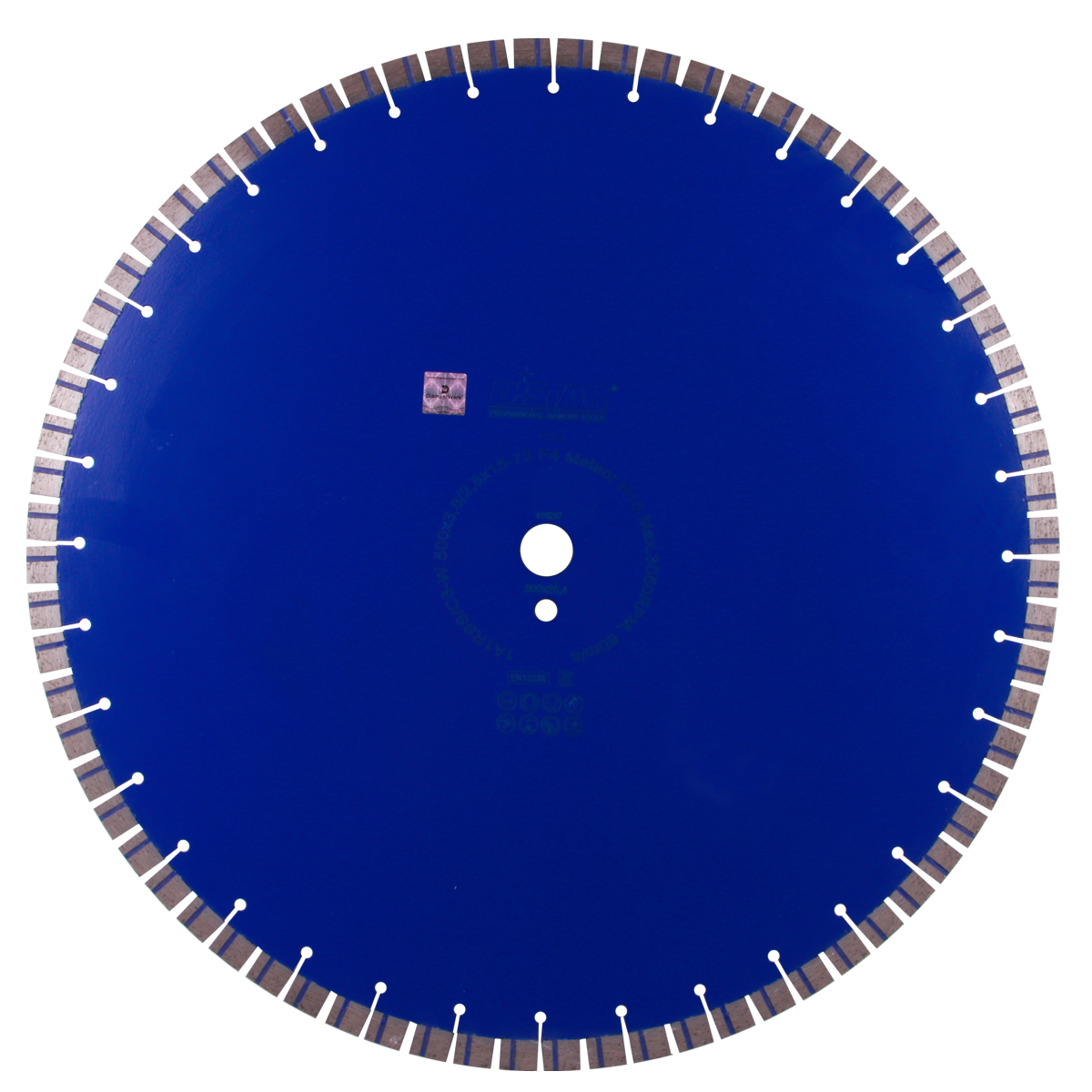 Круг алмазный отрезной 1A1RSS/C3-W 500x3,8/2,8x15x25,4-72 F4 Meteor H15