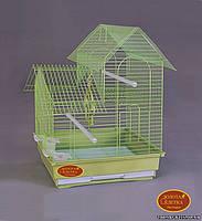 """Золотая клетка для птиц А-408 """"эмаль"""" (35*28*46 см)"""