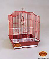 """Золотая клетка для птиц А-412 """"эмаль"""" (35*28*46 см)"""
