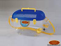 Золотая клетка - переноска для для маленьких животных GF3A, (35*22*24 см)