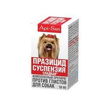 Api-san Празицид суспензия 10 мл для взрослых собак