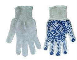 Перчатки трикотажные ПВХ точка, 10 класс вязки
