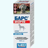 Спрей Барс Форте для собак 100мл