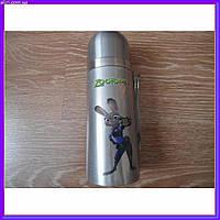 Детский термос для напитков и чая с клапаном 350мл